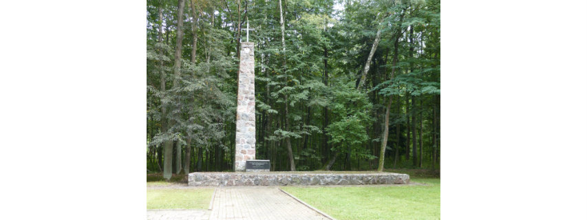 Pomnik ofiarom II wojny światowej - Las Pilicki/The monument commemorating victims of World War II - Pilicki Forest